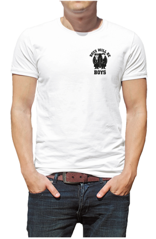 Shirt 'Boys will be Boys'